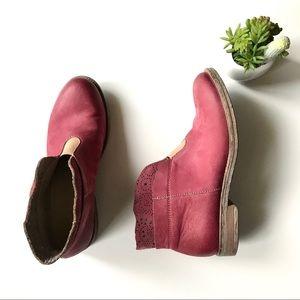 Sundance ankle boots laser cut leather sz 40 9